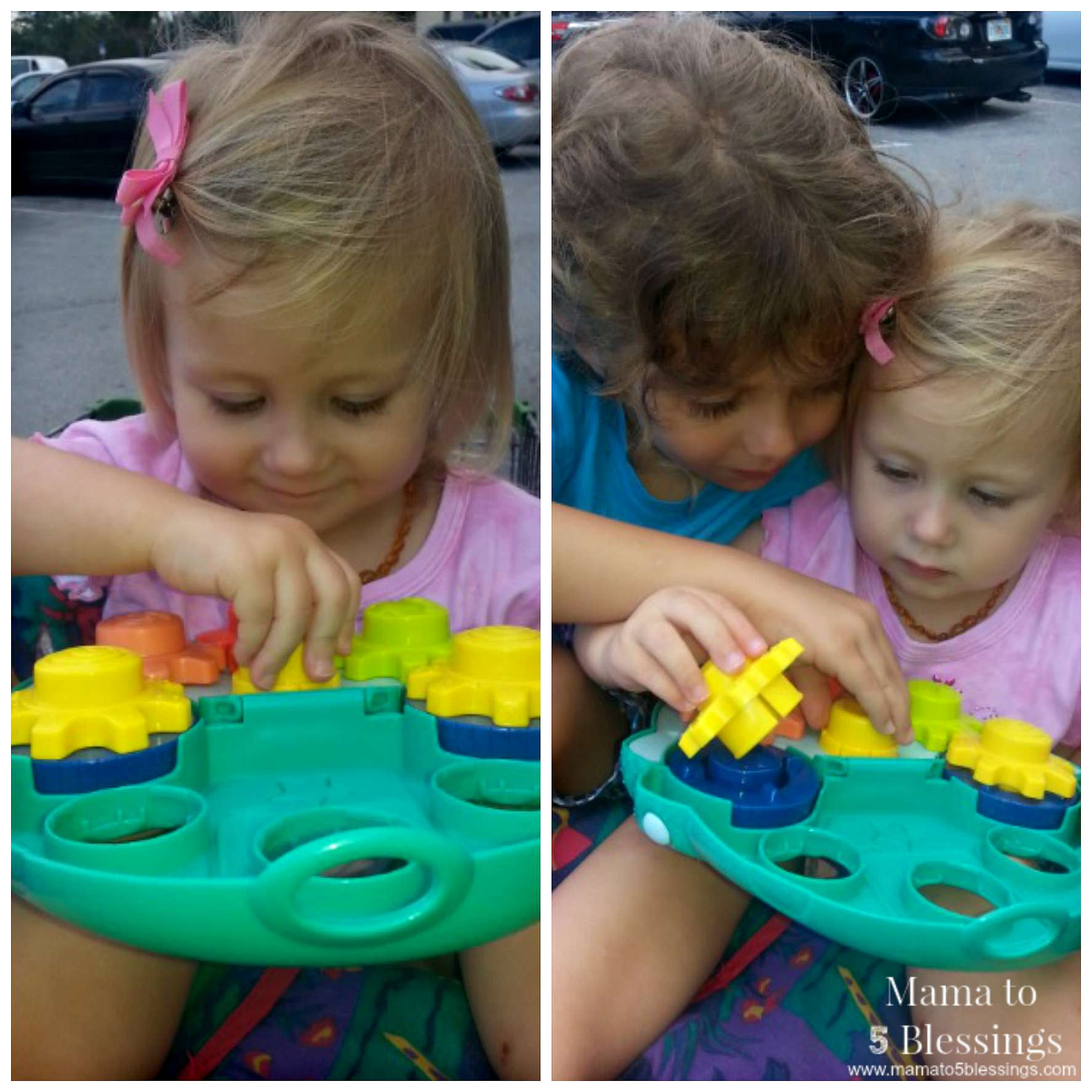 PLAYSKOOL CAR COLLAGE