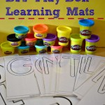 Learning With Play-Doh (DIY Learning Mats) #WorldPlayDohDay