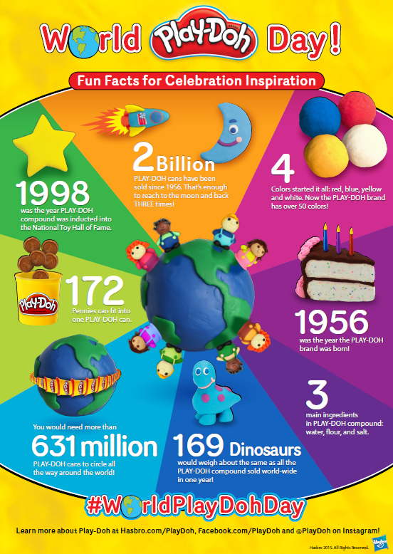 world play-doh day graphics