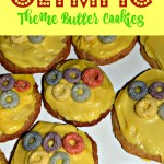 Olympic Theme Butter Cookie Recipe