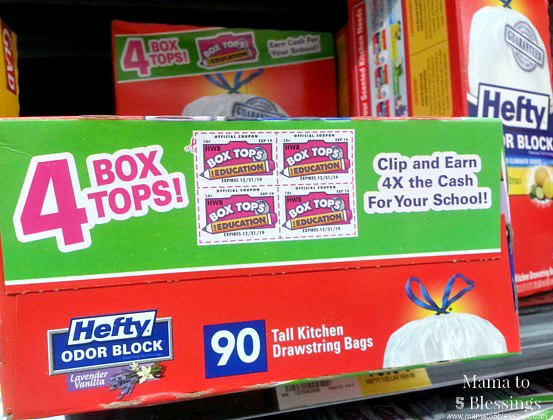 Hefty, Box Tops