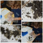 Combing Through Fur To Find Bones #OwlPellets (Almost) Wordless Wednesday With Linky