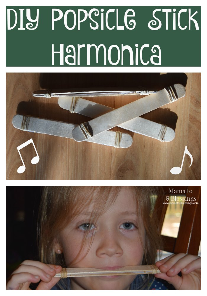 DIY Popsicle Stick Harmonica