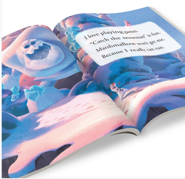 disney olaf incredebooks