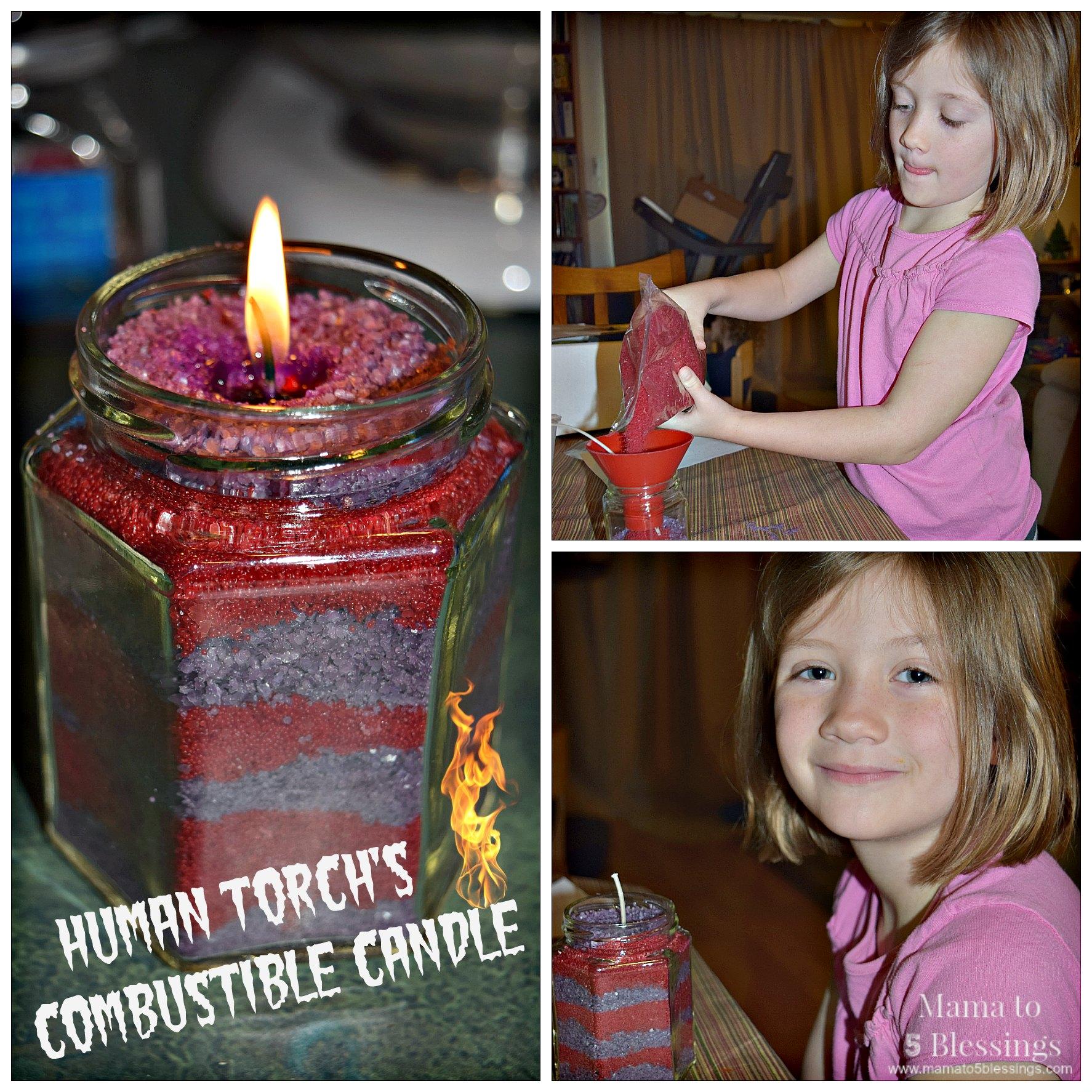 fantastic 4 candles