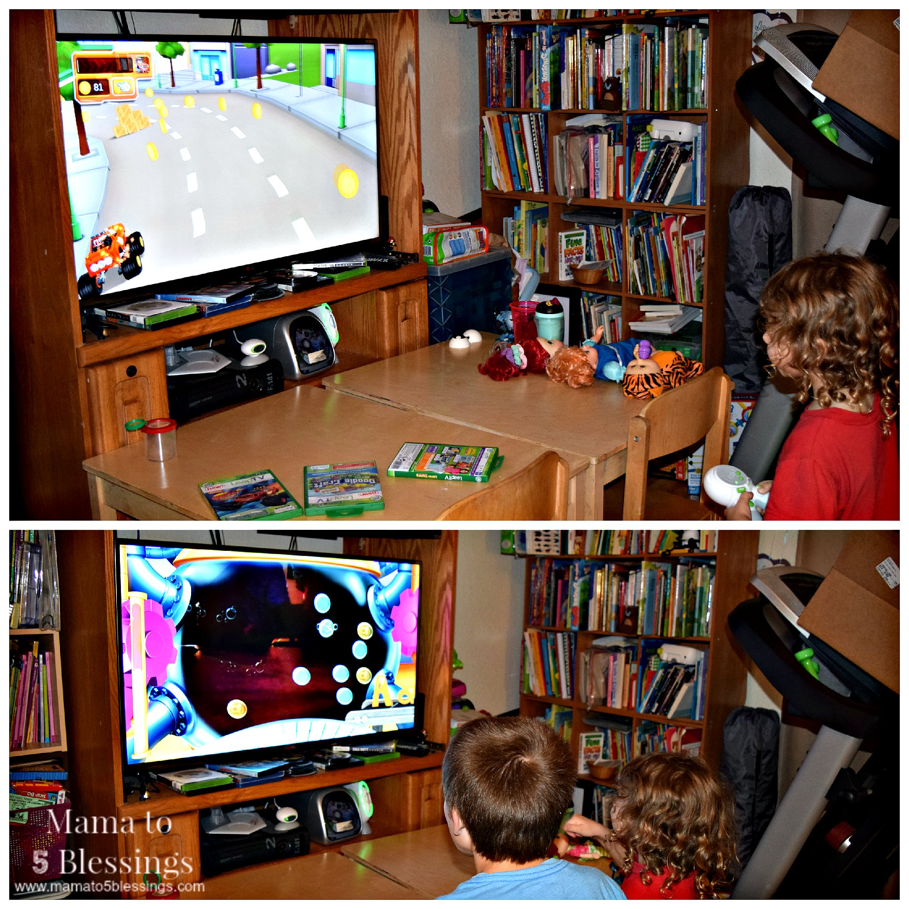 leaptv play collage
