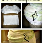 Do It Yourself Maternity Tummy Band