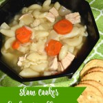 Slow Cooker Chicken Noodle Soup #ComfortFood