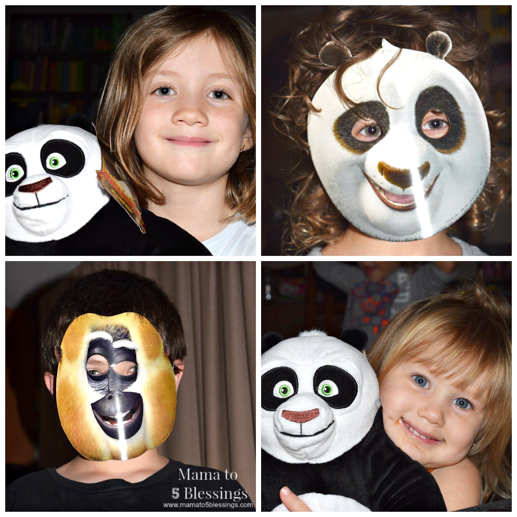 fung fu panda collage