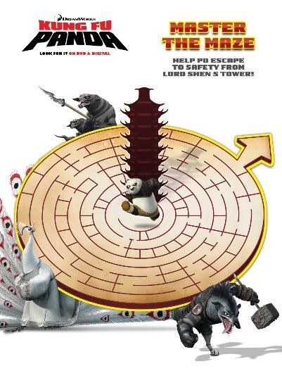 kung fu maze