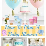 How To Plan A Baby Shower (Party Tips)