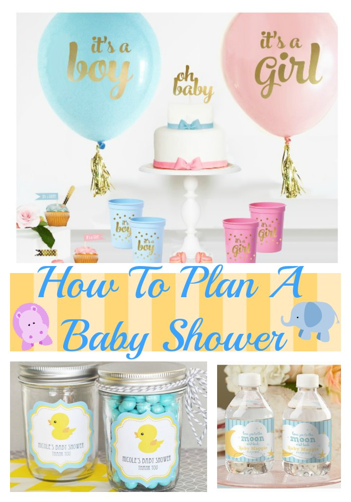 Ow To Plan A Baby Shower Party Tips