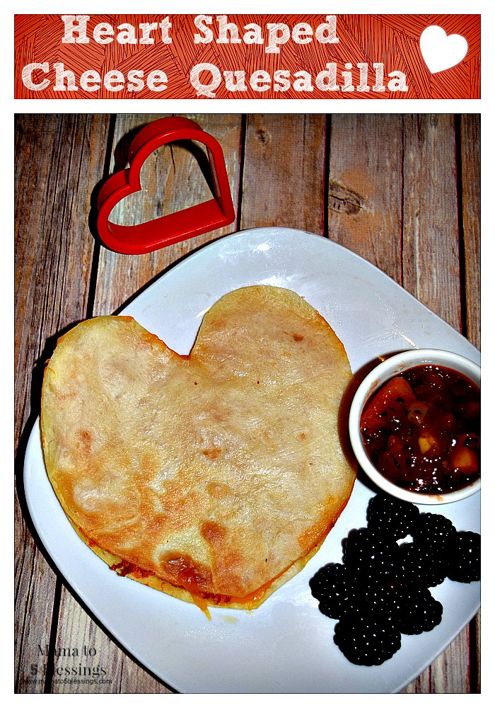 Quesadilla, Heart, Valentine's Day
