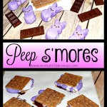 Turn Peeps Into Peep S'mores For A Delicious Easter Treat!