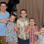 5 silly kids