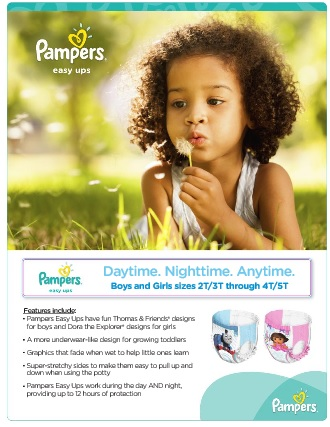 pampers info