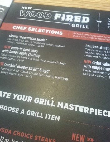 Hand-Cut Wood Fired Grill  Applebee's