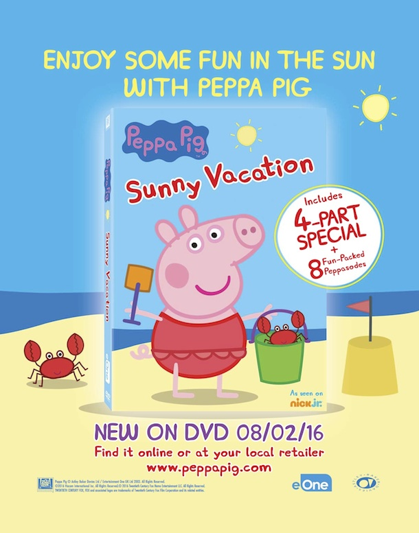 Peppa Pig's Sunny Vacation