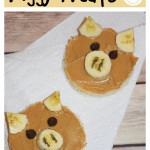 Peanut Butter & Banana Piggy Treats / Peppa Pig's Sunny Vacation Giveaway