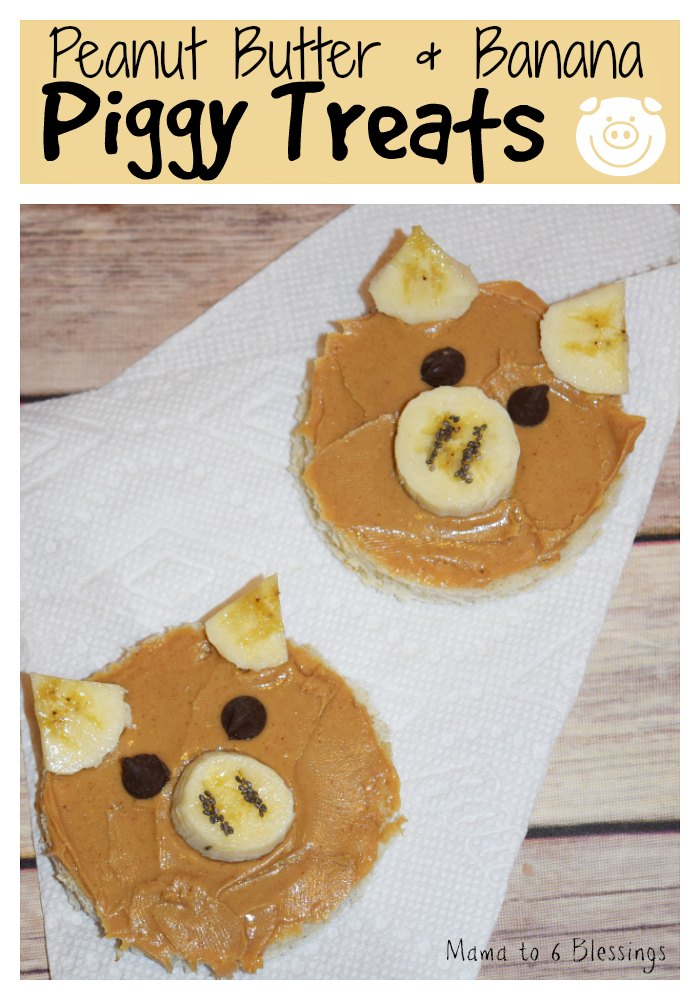 Peanut Butter & Banana Piggy Treats / Peppa Pig's Sunny Vacation