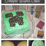 How To Make A Minecraft Creeper Cake