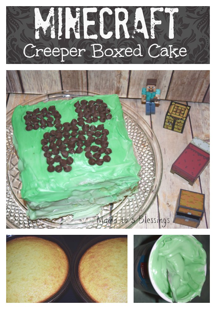 Minecraft Creeper Cake Instructions