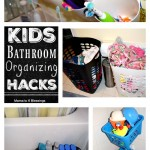 Kids Bathroom Organizing Hacks