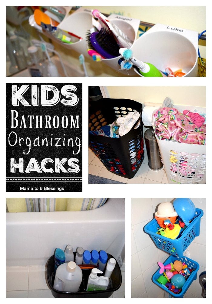 kids bathroom hacks