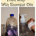 How To Make Foam Soap With Essential Oils