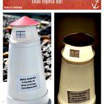 Styrofoam Lighthouse Craft