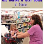 Helping Moms When Their Kids Are Having A Melt Down In Public