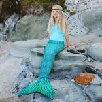 Be A Mermaid With Sun Tail Mermaid