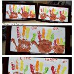Turkey Handprint Craft Keepsake