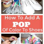 How To Add A Pop Of Color To Canvas Sneakers
