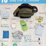 15 Must Haves In A Diaper Bag For A Toddler