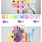 Kids Rainbowfish Craft