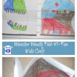 Monster Mouth Fold-N-Fun Kids Craft