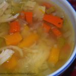 Low Carb Chicken And Veggie Soup #Paleo #Whole30
