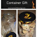 Recycling A Glass Jar Into A Treat Container Gift