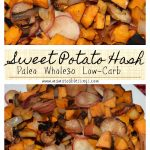 Sweet Potato Hash #Paleo #Whole30