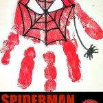 Spiderman Handprint