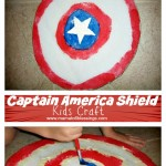 Captain American Shield Craft