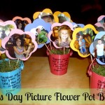 Mother's Day Picture Flower Pot Bouquet
