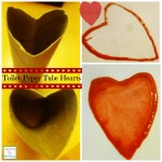 HOW TO MAKE A HEART STAMPER OUT OF A TOILET PAPER TUBE