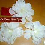 HOW TO MAKE FLOWER HAIR BOWS (TUTORIAL)