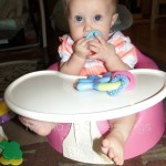 Bumbo Floor Seat With Play Tray Review & Giveaway