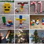 Homemade Lego Ornaments & Their Lego Christmas Tree – Learn & Link (With Linky)