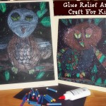 Glue Relief Art Craft For Kids – Learn & Link With Linky