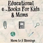 Wonderful e-Books For Kids & Moms