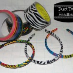DIY Duct Tape Headbands (Super Easy To Make)
